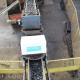Contrôle automatisé de la production de Broyats de pneu